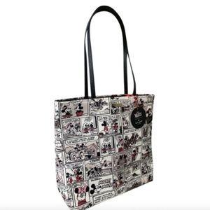Disney Kate Spade Minnie Mickey Mouse Tote Bag